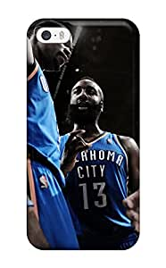 Premium Iphone 5/5s Case - Protective Skin - High Quality For Oklahoma City Thunder Basketball Nba