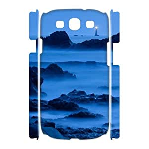 Samsung Galaxy S3 I9300 3D DIY Phone Back Case with Beautiful Lighthouse Image