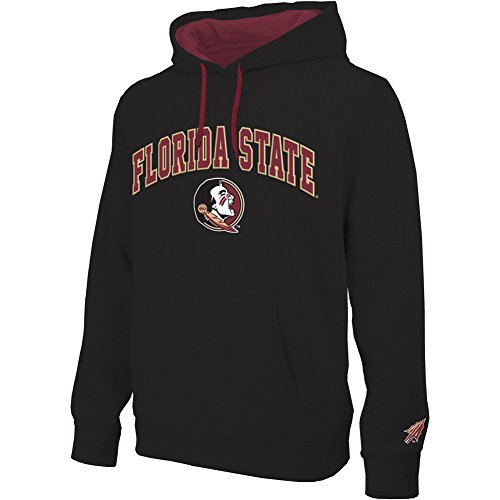 Florida State Seminoles Hooded Sweatshirt Arch Black