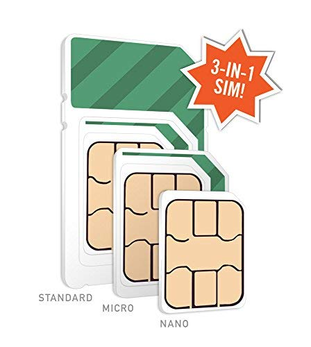 $15/Month Mint Mobile Wireless Plan | 3GB of 4G LTE Data + Unlimited Talk & Text for 3 Months (3-in-1 GSM SIM Card) by Mint Mobile (Image #3)