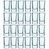 Luminarc 2.75-ounce Tall Square Shot Glasses 24 Pack