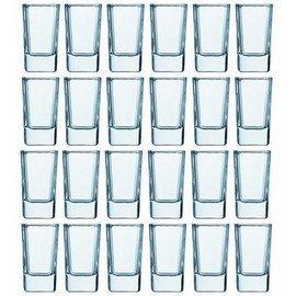 Tall Square Shot Glasses, 24 Pack ()