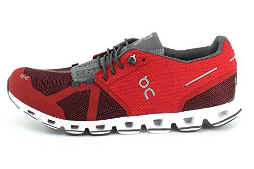 Su Running Mens Scarpa Nuvola Rosso / Bue