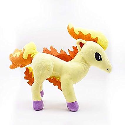 Amazon.com: Mangmoc 1,078.7 in peluche juguetes lindo Ponyta ...