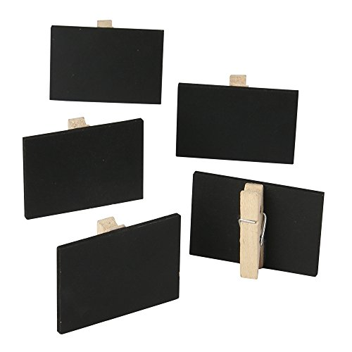Price comparison product image 10-Count Mini Rectangle Chalkboard Clips
