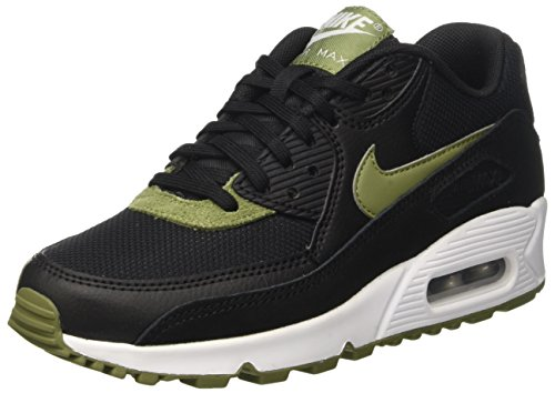 Silver Palm Green 90 Running White Scarpe Air Mtlc Black NIKE Nero Max Donna 78Zq11w