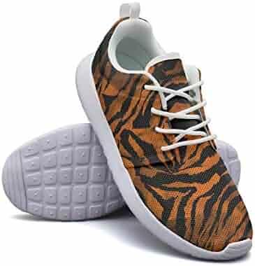 a4b28931bb04c Women's Shoes Zebra Gradient Tie Dye Colorful Camouflage Unique Sports Mesh  Rubber Sneaker Lace Up Lightweight