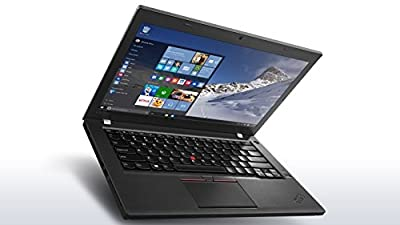 "Lenovo Thinkpad T460 i5-6200U 2.3GHz 4GB 256GB SSD Win 10 Pro 14"" HD AC-8260 20FMS2YS00"