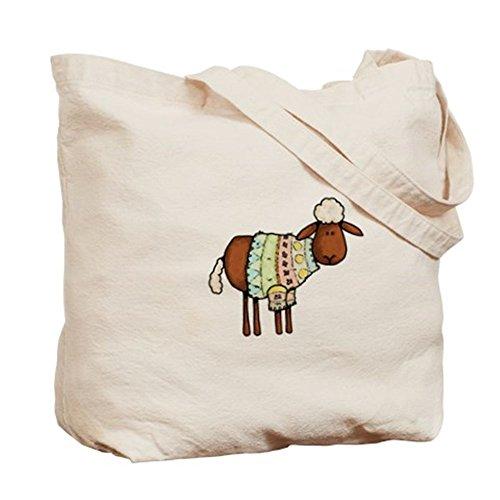 CafePress–Maglione di lana naturale Borsa di tela, panno borsa per la spesa