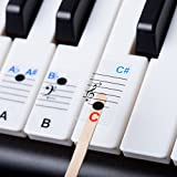 New - Keysies All Notes. Complete Note Range Piano Stickers For All Sizes of Keyboard