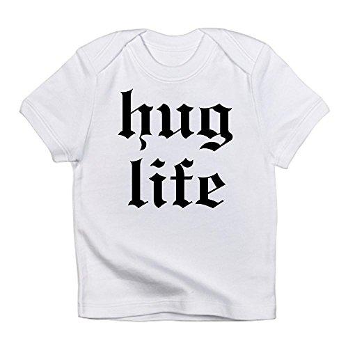 CafePress - Hug Life Infant T-Shirt - Cute Infant T-Shirt, 100% Cotton Baby Shirt