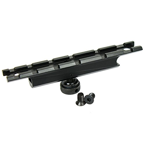 Tactical AR-15 M4 Carry Handle Rail Mount A1 A2 Scope Weaver Mount Picatinny Rail
