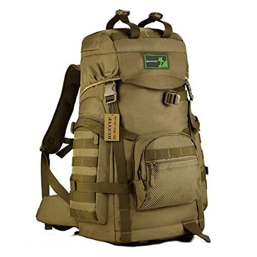 - Huntvp 55L Tactical Military MOLLE Assault Backpack Pack Large Waterproof Bag Rucksack Sport Outdoor Gear For Hunting Camping Trekking