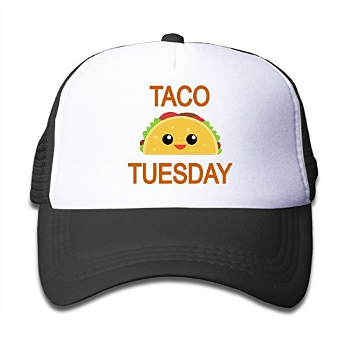 Baby Taco Tuesday Boys And Girls A Grid Baseball Cap Can Be Adjusted -