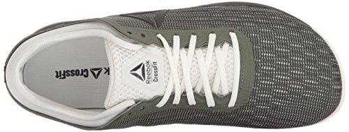 Reebok Women's CrossFit Nano 8.0 Sneaker, Hunter Green/Coal/Chalk, 5 M US by Reebok (Image #7)