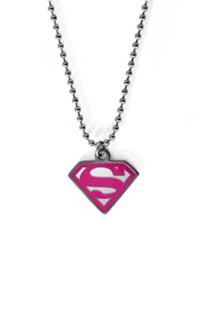 Supergirl Necklace - pink aiGv9bL
