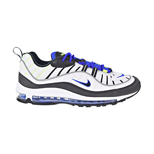 Nike Air Max 98 White/Black/RACERBLUE/Volt Bianco