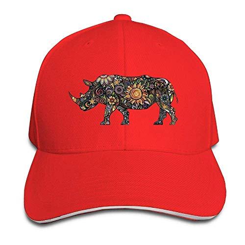 Cap Cowboy Hats Men Women Rhinoceros Hat Denim for Skull Cowgirl Art Sport q8X47w4In
