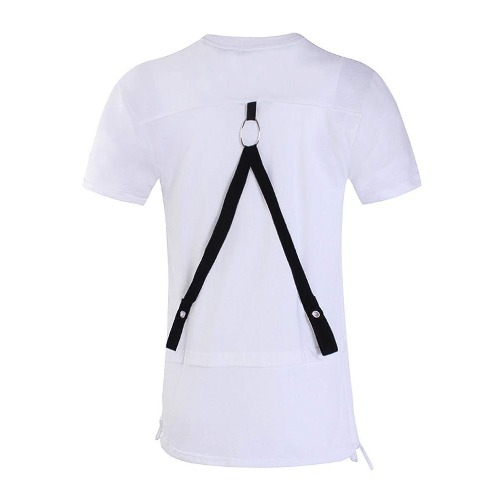 WKDYBD Fashion Mens T Shirt,Casual Breathable Short Sleeve Slim Shirts Tops