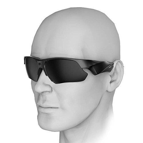 Sunglasses Camera, KAMRE Full HD 1080P Mini Video Camera with UV Protection Polarized Lens, A by KAMRE (Image #5)