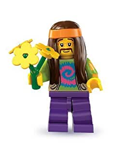 LEGO 8831 Series 7 Hippie with Flowers Minifig Minifigure