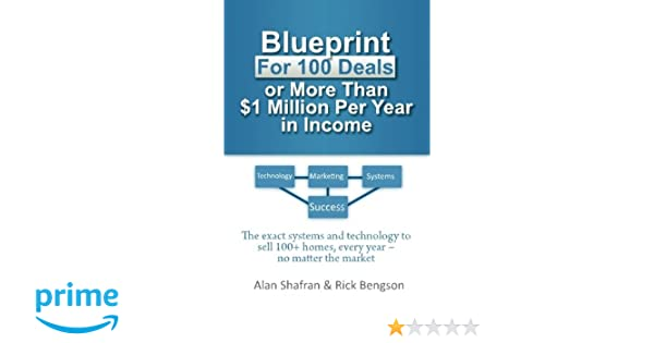 Blueprint for 100 deals or more than 1 million per year in income blueprint for 100 deals or more than 1 million per year in income the exact systems and technology to sell 100 homes every year after year no matter malvernweather Images