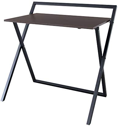 Best home office desk: Versanora Easton 34″ Modern Wood Folding Home Office Study Computer Desk