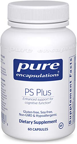 Pure Encapsulations – PS Plus – Hypoallergenic Formula for Memory, Mental Processing and Overall Cognitive Function* – 60 Capsules Review