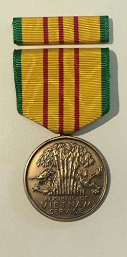 Military Issue Vietnam Service Medal Set Nsn 8455 00 926 1664