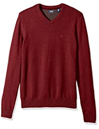 Izod Mens V-Neck 7gg Long Sleeve Sweater
