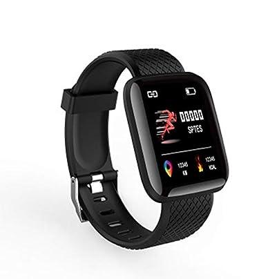 DMMDHR Smart Band Sport Fitness Bracelet Heart Rate Monitor Bluetooth Waterproof fitness tracker watch Smart Wristband Smart Band Estimated Price £28.94 -