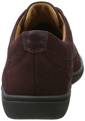 Ganter Gill-g - Zapatos Derby Mujer Rot (Vino)