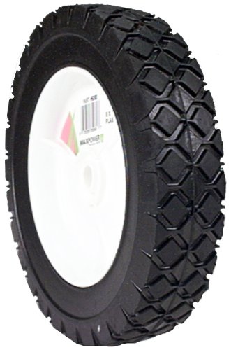 Maxpower 335080 8-Inch Plastic Wheel Diamond - Mower Wheel Lawn Plastic
