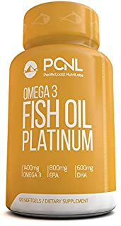 PacificCoast NutriLabs 2000mg Fish Oil