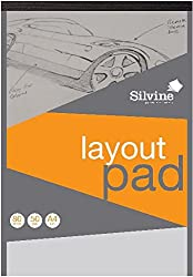 Silvine A4 Layout Pad