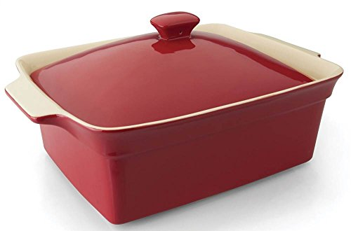 BergHOFF Geminis Rectangular Covered Baking Dish, Red