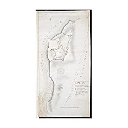 Map New York | Oswego | Oswego A, PLAN of the Ground Defined to be Fortified at OSWEGO Relief shown