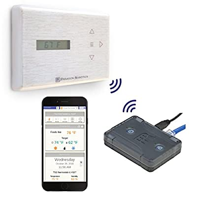 Paragon Robotics Model COM001 Wireless Smart Efficiency Thermostat System