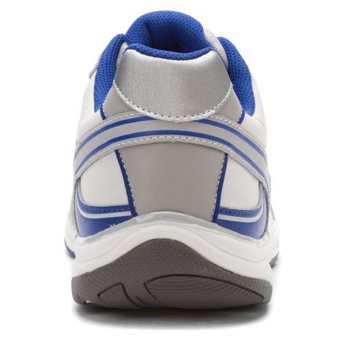 Orthaheel - Zapatillas de nordic walking para hombre multicolor blanco y azul 9