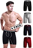 MAKEIIT Mens Boxer Briefs Mens Underwear Boxers Tall Boxer Briefs Mens Briefs S Underwear