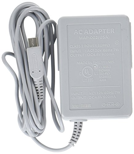 US Plug AC 100-220V Gray Power Charger Adapter for Nintendo 3DS