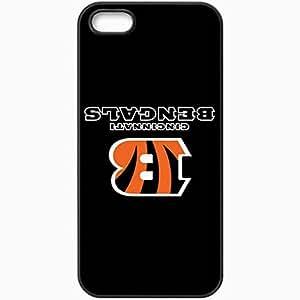 Personalized iPhone 5 5S Cell phone Case/Cover Skin Nfl Cincinnati Bengals 8 Sport Black