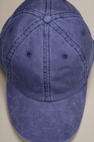 Adams Optimum Pigment Dyed Twill Cap (Purple) (ALL) (Twill Pigment Solid Cap Dyed)