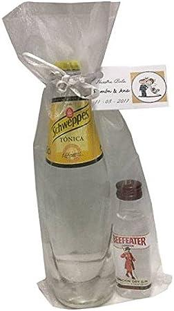 Pack miniatura de ginebra Beefeater con tónica Schweppes en bolsa ...
