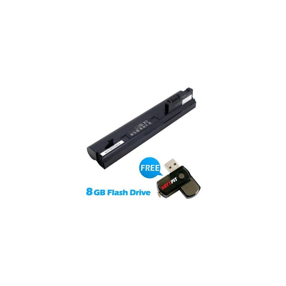 Battpit™ Laptop / Notebook Battery Replacement for HP Mini 110 1025TU (4400 mAh) with FREE 8GB Battpit™ USB Flash Drive
