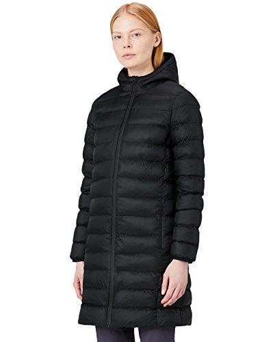 Black Hood MERAKI Jacket Longline Women's Puffer wq8UHXU6fO
