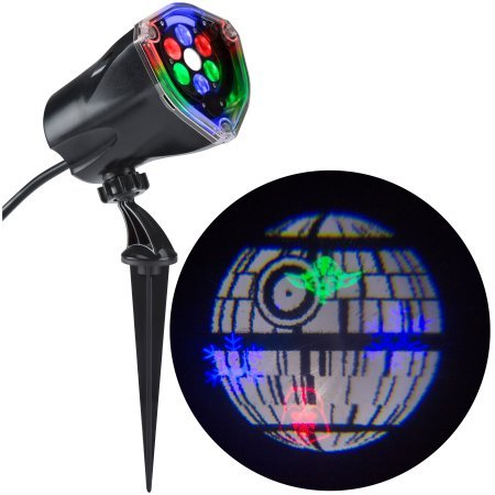 (Gemmy Lightshow Projection Whirl-A-Motion Star Wars Death Star Indoor/Outdoor Holiday Decoration (1))