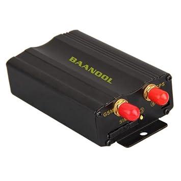 CARCHET® - Localizador de satélites GSM GPR GPS. Antirrobo. Monitorización de posicionamiento. Alarma de emergencia en tiempo real para el coche: Amazon.es: ...
