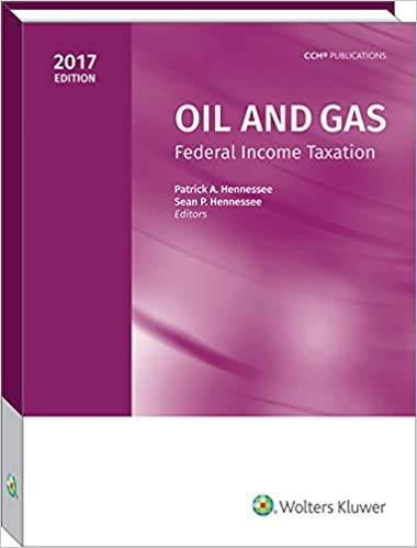 Counting Number worksheets gas law worksheets : Oil and Gas: Federal Income Taxation (2017): Patrick A. Hennessee ...