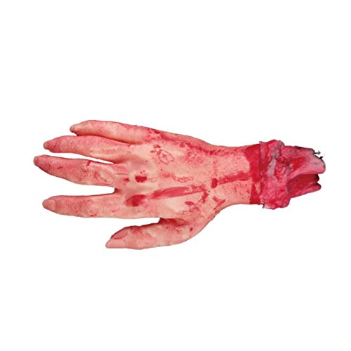 [ELSKY Halloween Lifesize Human Bloody Dead Hand] (Toddler Cat Costume Ideas)